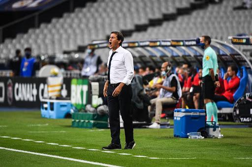 L'entraîneur lyonnais Rudi Garcia lors de la finale de coupe de la Ligue entre le PSG et l'OL. [IconSport]