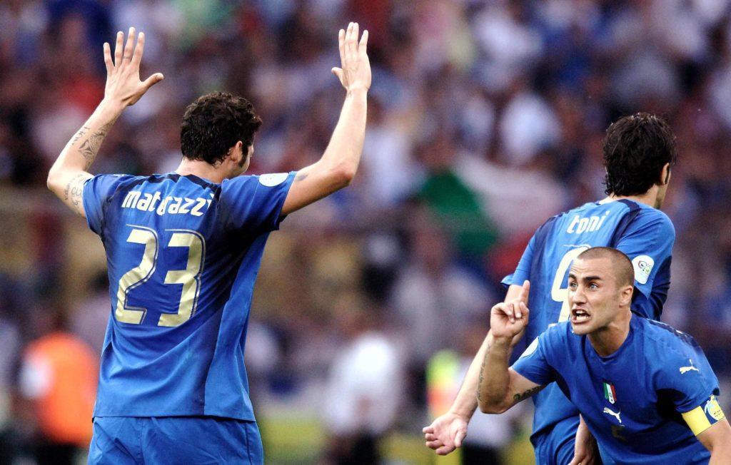 Materazzi et Cannavaro