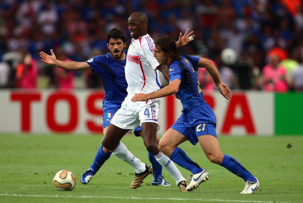 Gattuso et Pirlo